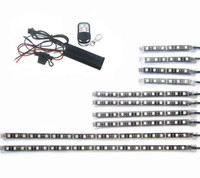 Wholesale trike kits for sale - Group buy Cam An Trike Underglow Sizes Led Strips Color LED Wireless Control Knight Rider Light Brake Warming Kit