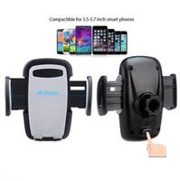 fahrzeugtelefonhalter großhandel-Handy-Auto-Halter-freies Verschiffen-Fahrzeug-Handy-Navigator, Automobil-Innenordnungs-Klammer-Lufteinlass-Halter-Handy-Klammer