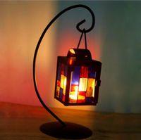 linternas votivas al por mayor-Necesidad Romántica Vela Decorativa Linterna Votive Candle Holder Hanging Lantern Candlesticks Vintage Hot Party Decoration
