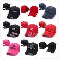 ücretsiz swag şapkaları toptan satış-İyi Satış Neredeyse Ünlü şapka Raf Simons Snapback beyzbol Trapsoul Tek Için NIght kapaklar VETEMENTS şapka Ücretsiz Kargo kemik gorras swag