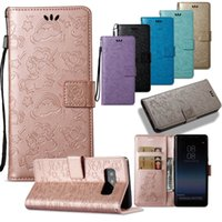 Wholesale branded pouches resale online - For iPhone Xs Max Xr Plus Huawei Mate Xiaomi Note4 Samsung J7 Card Wallet Leather Skin Case Cover Magnetic Unicorn