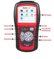 escáner obd2 eobd al por mayor-AUTEL AL519 Escáner OBD2 Original AutoLink Fault Code Reader Soporte Todos OBD2 PUEDE EOBD JOBD Escaner con DHL Envío Gratis
