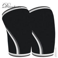1 pc Rubber sports knee pads Diving Material Weight rodilleras Protective Guard Gear 7mm Thicker Compression Outdoor Sports 2018