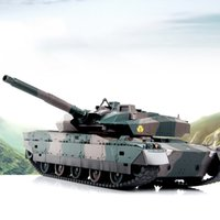 Wholesale Remote Controlled Electric Toy Tanks - Camouflage 40CM Toy Tank Model Electric Remote Control RC Tank For Boys Children Electronic Games Brinquedos Birthday Gifts