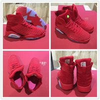 Wholesale new style basketball shoes - 2018 New Style VI 6 China Red Woven Ice Blue Sole Mens Basketball Sports Shoes for AAA+ quality 6s Man Athletic Trainers Sneakers Size 41-46