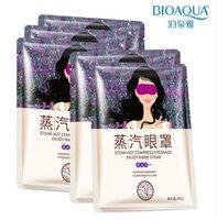 feiner lavendel großhandel-BIOAQUA Augenmaske Lavendelöl Steam Gesichtspflege Haut Dark Circle Eye Taschen Beseitigen geschwollenen Augen Feine Linie Falten Anti Aging