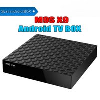Wholesale a7 android tv for sale - Cheapest Rockchip M9S X9 K TV Box RK3229 Quad Core Cortex A7 G G Android TV BOX WiFi K D Android ott tv box Best OEM ODM BETTER S905W