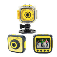 Wholesale mini cameras for sports online - Digital Camera Action Video Camera Inch Children s waterproof sports HD Mini Video camera For Kids outdoor Birthday Holiday Gift