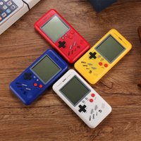 Wholesale electronic game player for sale - Group buy Best Gift Retro Classic Childhood Tetris Handheld Game Players LCD Electronic Games Toys Game Console Riddle Educational Toys