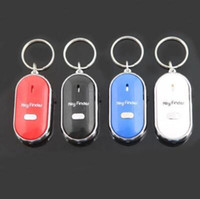 Wholesale whistle lost keys resale online - Anti Lost Key Finder Key Locator Keychain Whistle Sound Control Keyring Outdoors Key Finder Anti Lost Keychain Novelty Items CCA10159