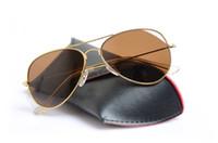 equipas venda por atacado-Top Quality Clássico óculos de sol Mans óculos de sol da Mulher óculos óculos de sol piloto 58mm Unisex Marca Designer óculos de sol com caixas e caixas