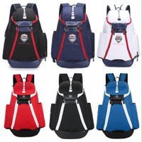 Wholesale USA National Team Basketball Backpacks The Olympic Packs Backpack Man s Bags Large Capacity Waterproof Training Travel Bags Shoes Bags