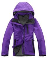 damen-ski-fleece großhandel-2018 The North Damen Denali Fleece Hoodies Jacken Fashion Casual Warm Winddicht Ski Gesicht Kids Coats Best Preis Jacken Suits S-XXL