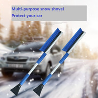 Wholesale Multi purpose car snow shovel and ice shovel Retractable long Snow removal and de icing shovel Winter car supplies