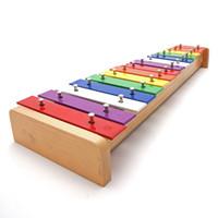 instruments de musique à main achat en gros de-éducatif enfant cadeau professionnel 15 violon enfant instrument de musique musique jouet main frapper piano jouets