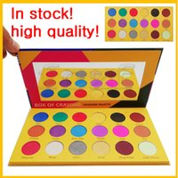 Wholesale cosmetic glitter wholesale - Popular style makeup Palette!BOX OF CRAYONS Cosmetics Eyeshadow Palette 18 Colors iSHADOW Palette Shimmer Matte EYE beauty 1 Piec