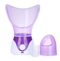 vapores de belleza al por mayor-Gustala limpieza profunda limpiador facial de belleza facial vapor Dispositivo vapor facial de la máquina herramienta facial pulverizador térmico Cuidado de la Piel