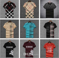 Wholesale Boy Tees - 2018 New Fashion Men's Casual Summer Students Short Sleeve Tops Boys Tees Shirt For Men