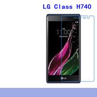Wholesale class protector - For LG Class H740,D170,D290,D295,D337,D680,d686,D690,E370,E440, Carbon Fiber 9H Tempered Plexiglass Screen Protector The edges will not chip