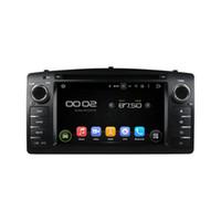 rádio gps corolla venda por atacado-Leitor de DVD Carro para Toyota Corolla 2004 6.2 polegadas Octa núcleo Andriod 8.0 com GPS, controle de volante, Bluetooth, rádio
