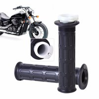 "Wholesale yamaha bobber - DWCX 2x Motorcycle 7 8"" Rubber Throttle Handlebar Handle Bar Twist Hand Grips for Harley Bobber Yamaha"