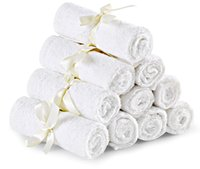 Wholesale Premium Towels for Sensitive Baby Skin Washable Baby Wipes Great for Baby Shower Great Gift by Utopia Towels
