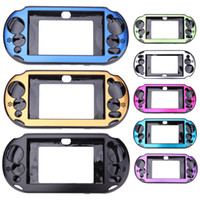 Wholesale covers for ps vita for sale - Group buy Aluminum Metal Skin Protector Hard Protective Case Cover Console Shell Box For PS Vita PSV2000 DHL FEDEX EMS