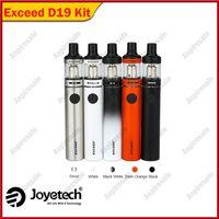 ingrosso vaporizzatore di joyetech-Kit originale Joyetech Exceed D19 Starter Kit 2.0ml Kit vaporizzatore Joyetech vaporizzatore a penna alimentato tramite batteria 1500mah