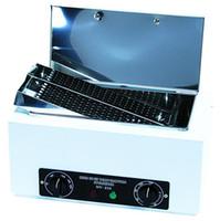 aço inoxidável jp venda por atacado-Esterilizador De Alta Temperatura Para A Beleza Tesoura De Manicure Ferramenta Desinfecção De Ar Quente Com A Caixa De Tanque De Aço Inoxidável Removível UV Box NV-210
