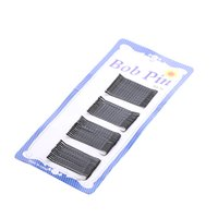 Wholesale bobby pins for sale - Group buy 60Pcs set Hair Clips Bobby Pins Invisible Curly Wavy Grips Salon Barrette Hairpin