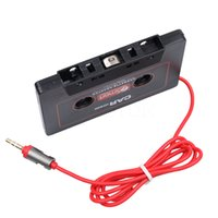 Wholesale cassette adapters online - Universal Car Cassette Tape Adapter Cassette Mp3 Player Converter mm Jack Plug AUX Cable CD Player