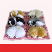 Wholesale Girls Mouse Pad - Kids Toys Animals Baby Toys Explosion Models Simulation Model Designer Dog Ornaments Boys Girls Gift Nap Cloth Pad Nap Dog Fur Toy Wholesale