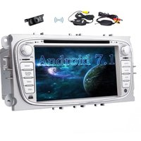 Wholesale ford car dvd player radio for sale - 7 Car Stereo Android Octa Core GB GB Car DVD Player HeadUnit For Ford Double Din Car Radio Phone Link Bluetooth WIFI