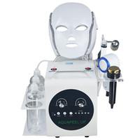 mikrodermabrasion facelift maschine großhandel-5 in 1 Hydro Microdermabrasion Hydra Dermabrasion BIO Facelifting Sixpolar RF Kalten Hammer SPA Gesichts Maschine Für Gesichtsreinigung Porenentfernung