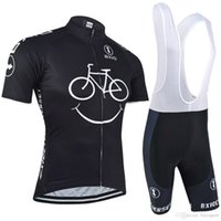 Wholesale cycling jerseys online - BXIO New Comming Cycling Jerseys Yellow Smile Mountain Bike Clothes Short Sleeve Quick Dry Cycling Sets Breathable Bikes Clothes BX