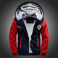 Wholesale winter overalls men - New Fashion Fleece Hoodies Men Winter Casual Men's Jackets Black Patchwork Men Coats Men's Overalls Plus Size M-5XL Free Shipping