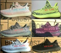 Wholesale Low Sole - DHL 2018 final Version 350 v1 and v2 boost Yebra Semi Frozen With Gum sole,Blue Tint,Red Night,Beluga 2.0 Shoes