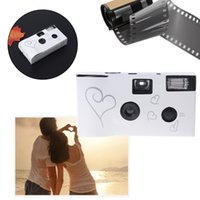 gebrauchte fotokameras großhandel-36 Fotos Power Flash HD Einmalgebrauch Einmal Filmkamera Partygeschenk für Party
