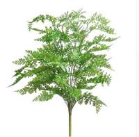 ingrosso grandi piantatori-75 cm nuovo di alta qualità artificiale grande felce erba albero pianta felce erba falso in vaso pianta giardino di casa decor decorativo pianta albero