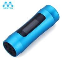 Wholesale Underwater Mp3 For Swimming - MEQ MP3 Players Underwater 4GB MP3 Music Player LED FM Radio 4G USB Stick Blue Waterproof with Earphone for Swimming