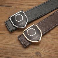 ingrosso q p-New Brand P Belt Men Cinture moda vera pelle Vera Cowskin cinghie uomo donna designer Q cinture da uomo di alta qualità