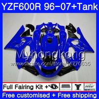 yamaha thundercat 1996 verkleidungen großhandel-Body + Gloss lila heißer Tank Für YAMAHA Thundercat YZF600R 96 97 98 99 00 01 229HM.4 YZF-600R YZF 600R 1996 1997 1998 1999 2000 2001 Verkleidung