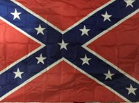 Wholesale Battle Armies - 50pcs Confederate flag US BATTLE SOUTHERN FLAGS REBEL CIVIL WAR FLAG Battle Flag for the Army of Northern Virginia H11w