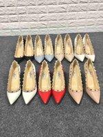 altura talón señalado al por mayor-zapatos de tacones altos zapatos de moda para mujer Varios colores abiertos En ocasiones formales brillantes en punta interior respirable Aumentar la altura Mocasines