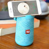 haut-parleur extérieur de bluetooth de mode achat en gros de-Élément de mode TG Creative Portable haut-parleurs sans fil Bluetooth pour Iphone stand costume pour la musique et le cinéma pour les sports de plein air