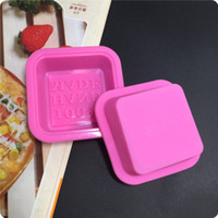 Wholesale Mousse Molds - Safety Silica Gel Moulds Durable Soft Square 100% Hand Made Silicone Molds Bread Mousse Chocolate Cake Soaps Baking Tools 1bea B