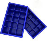 Wholesale Icing Molds - Silicone Ice Cube Tray Molds Candy Mold Cake Mold Chocolate Mold 15 Cavity