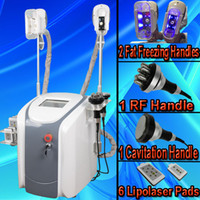 Wholesale Laser Liposuction Machines - Cryolipolysis Coolsculpting liposuction Laser machines fat freeze machine lipolaser cold lipo laser ultrasonic cavitation slimming machine