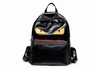 Wholesale boys school satchels for sale - Luxury Backpack Famous Designer Women Men Travel Backpack Casual Student School Bags Teenagers High Quality Moster Cute Shoulder Bags