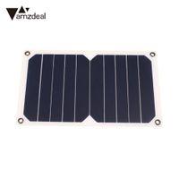 cartes de charge de la batterie achat en gros de-amzdeal DC 5V 5W résine époxy monocristallin panneau de charge de batterie de panneau d'alimentation solaire